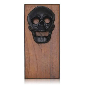 Skull magnetic bottle opener
